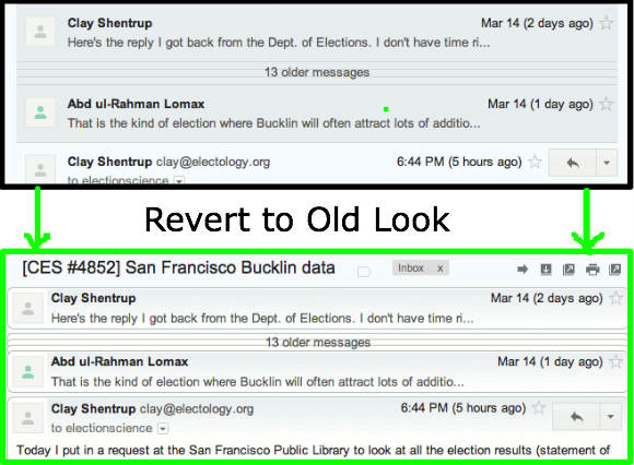 *UPDATED* Restore Old Gmail Look on New Gmail