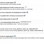 bp wp profile reviews settings 150x150 BP WP Profile Reviews and Rating Plugin